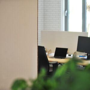 reboard scherm voor kantoor