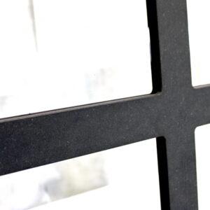 rammwerk zwart horecascherm